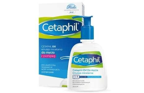 Cetaphil na AZS. Kosmetyki myjące i nawilżające dla osób z Atopowym Zapaleniem Skóry