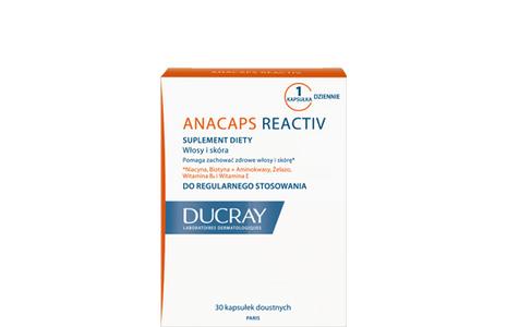 Ducray Anacaps Reactiv- preparat, który wzmacnia przeciążony i przepracowany organizm
